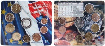 Slowakischer Kursmünzensatz 2009