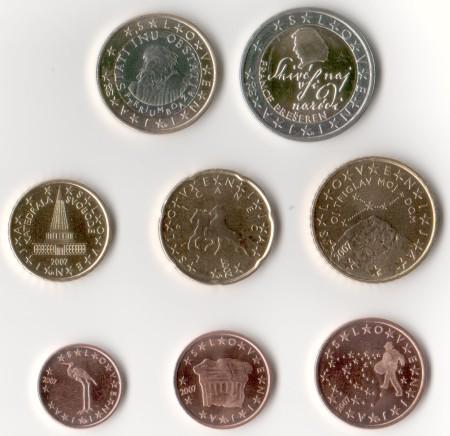 Euro Münzen Slowenien