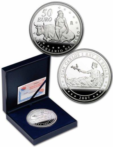 50 Euro Silbermünze