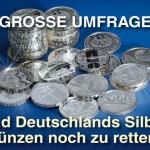 Umfrage Silbermünzen Deutschland