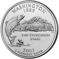 State Quarter Washington 2007