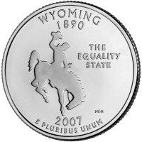 State Quarter Wyoming 2007