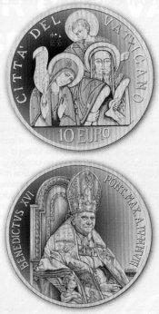10 Euro Münze Weltfriedenstag 2008