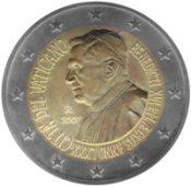 2 Euro Gedenkmünze Papst Benedikt 2007