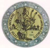 2 Euro Gedenkmünze Paulusjahr