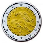 2 Euro Priesterjahr Vatikan 2010