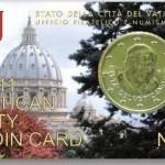 50 Cent Coincard Vatikan 2011