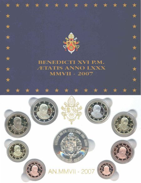 Vatikan KMS Polierte Platte 2007