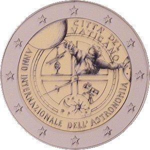 Erster Entwurf Der 2 Euro Münze Vatikan 2009