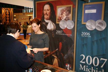 Stand der Niederlande auf der World Money Fair 2007